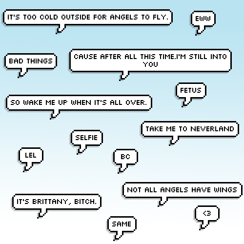 Speech Bubble Png by CANDIY14