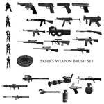 Sk8er's Weapon Brush Set