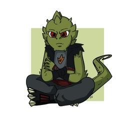Sulking Drago by CirriCore