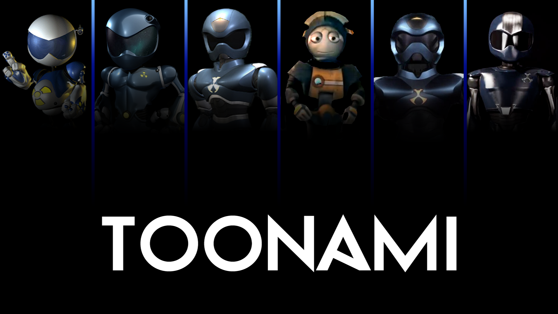 Toonami Goodies by Raffian