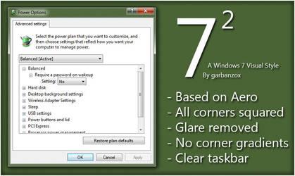 Seven Squared - A Windows 7 VS by garbanzox