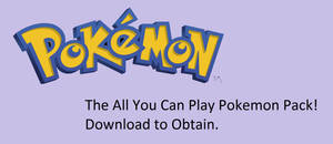 All You Can Play Pokemon Pack