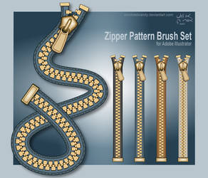 Zipper Brush Set