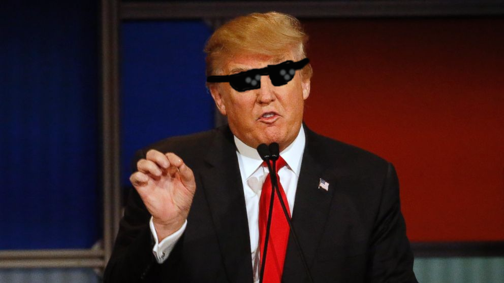 Donald Trump Thug life by Iambrillancetheppg on DeviantArt