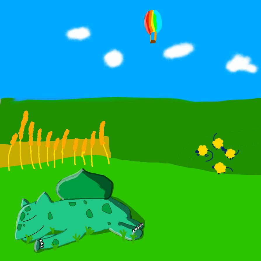 bulbasaur by Daphneysilly