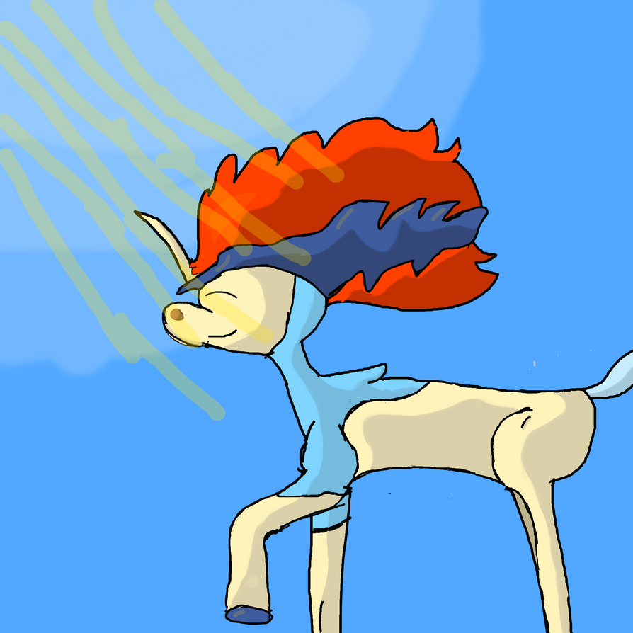 keldeo by Daphneysilly