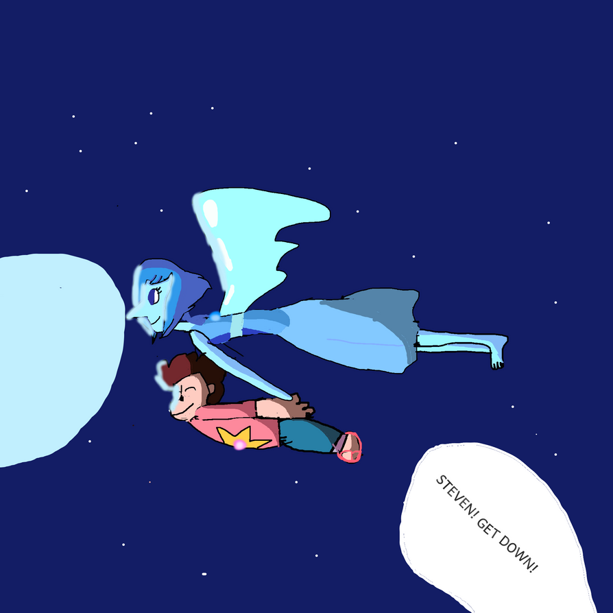 Steven and Lapiz by Daphneysilly