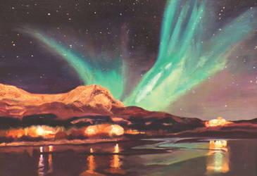 Northern Lights by OnlyOneWish123