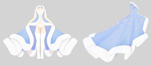 Fluffy Winter Coat Distribution/DL (PMX file) by ZerevinaNatalia
