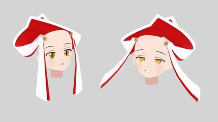 Ibaraki Douji Headpiece Distribution/DL (PMX File)