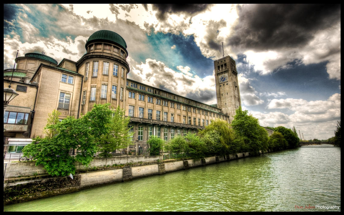 Munich Deutsch Museum - WP by superjuju29
