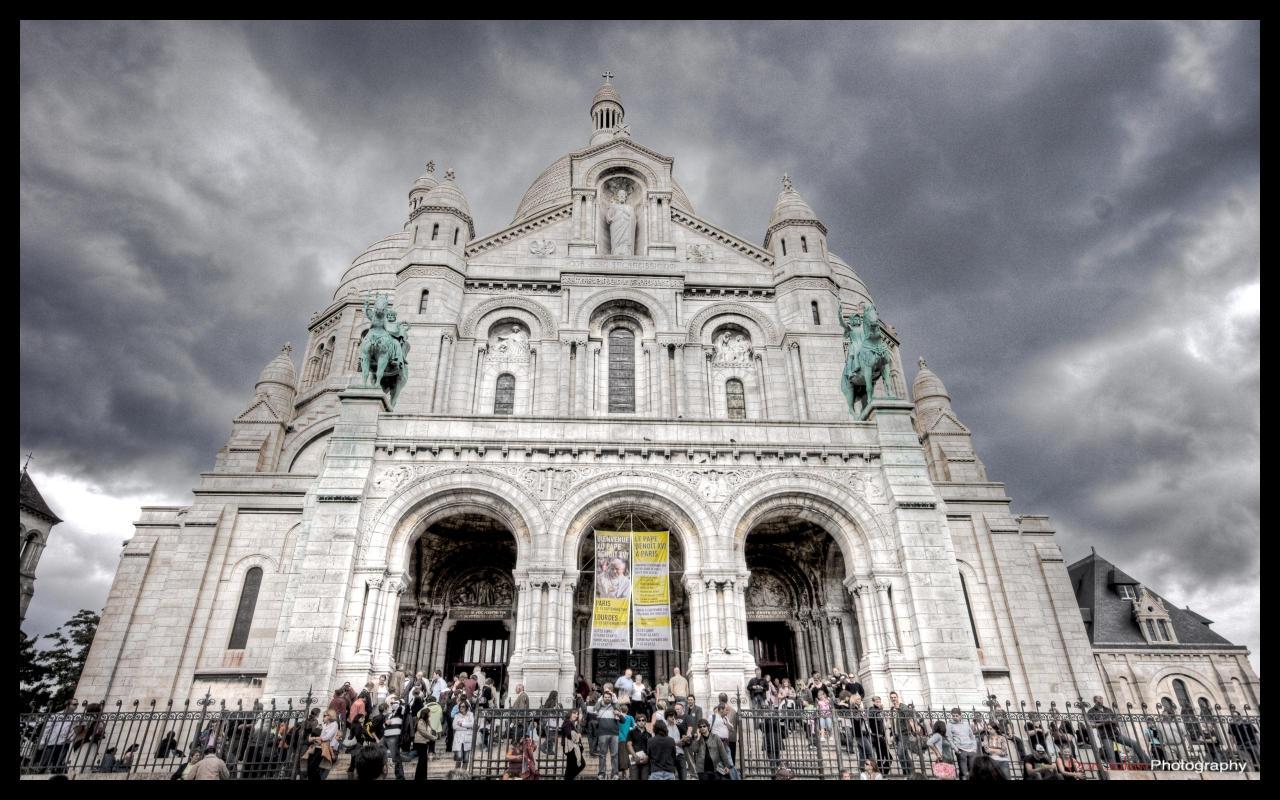 Paris  - Sacre Coeur WP 3 by superjuju29