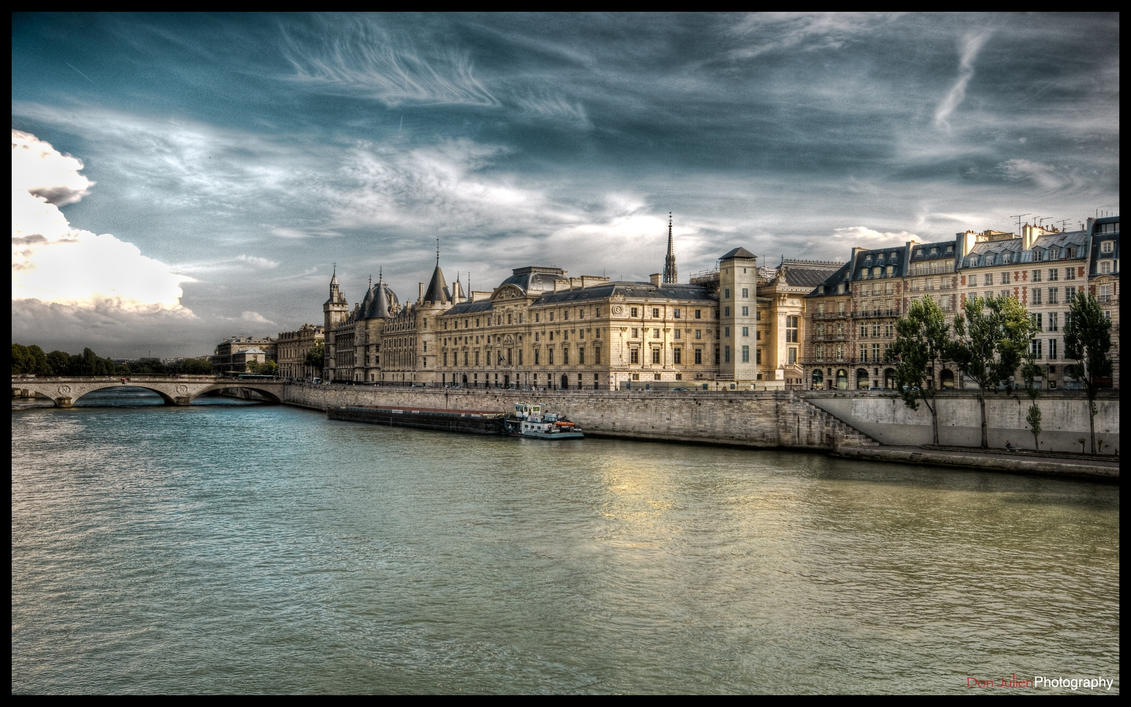 Paris  - River side I WP by superjuju29