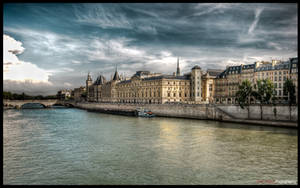 Paris  - River side I WP by superjuju29