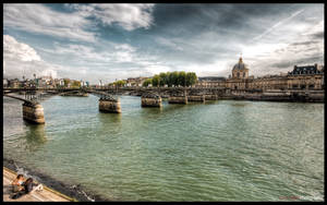 Paris  - River side II WP by superjuju29