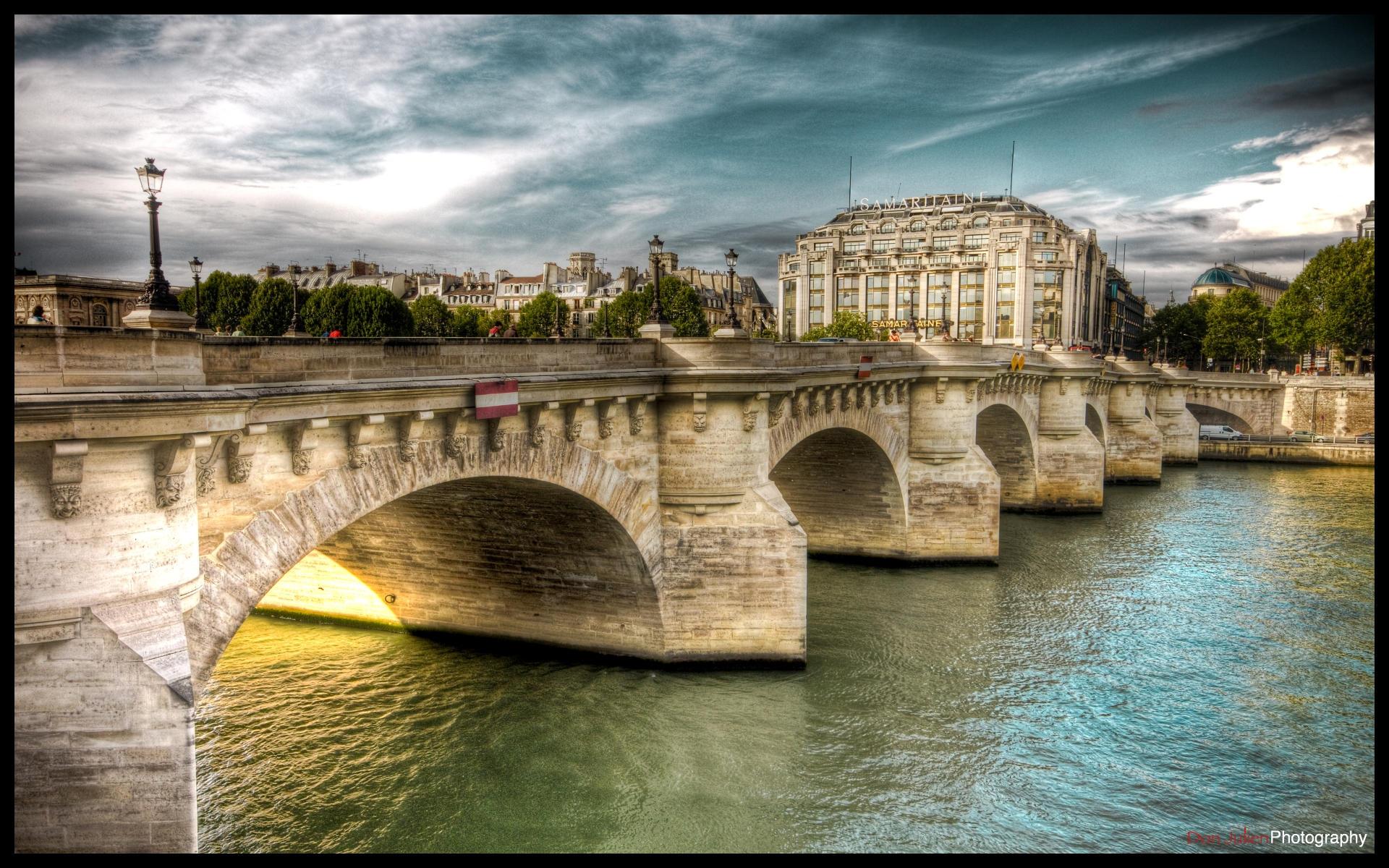 Paris  - River side III WP by superjuju29