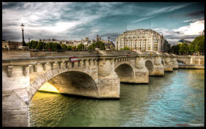 Paris  - River side III WP by superjuju29