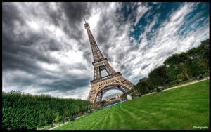 Paris - Eiffel Tower III WP by superjuju29