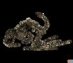 XPS MMD TES V: Dragon skeleton