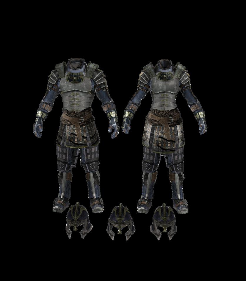 XPS TES V: Akaviri Blades Armor pack by Tokami-Fuko on DeviantArt