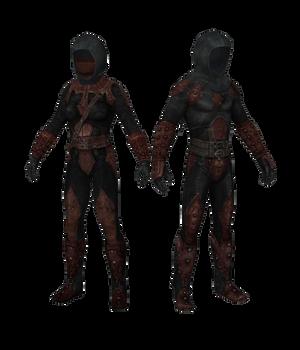 XPS TES V: Dark Brotherhood armors