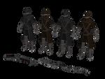 XPS MMD Bloodborne: Yharnam hunter set