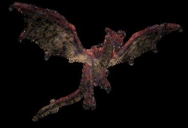 XPS TES: Nafaalilargus the Red Dragon by Tokami-Fuko