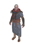 XPS Witcher 3: Avallach rigged