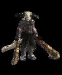 XPS, FBX and MMD Dark Souls: Capra demon