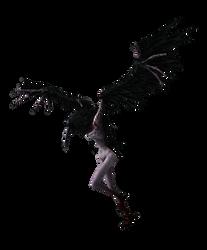 Dark Souls: Crow demon by Tokami-Fuko