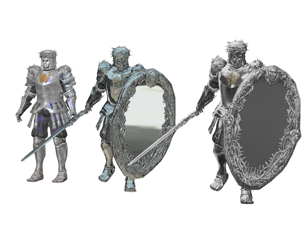 Xps mirror knight pack by tokami fuko on deviantart for Mirror knight