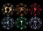 Skyrim Runes XPS MMD