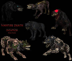 Death hound PNG stock