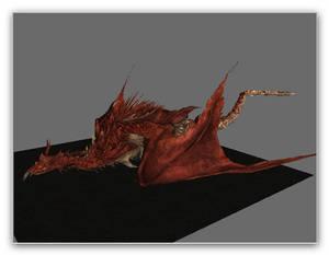 Skyrim test: Hellkite Wyvern 1
