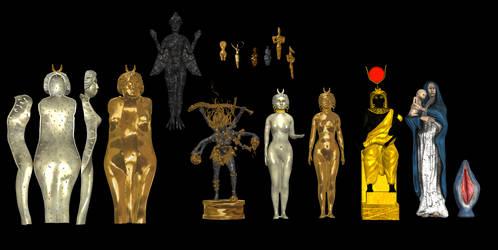 Goddess Statuettes