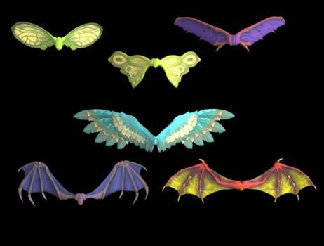 Cartoon Wings pack