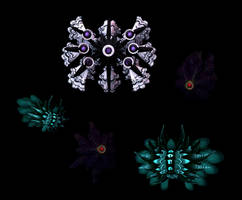 MMD XPS Abyssal creatures