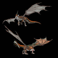 XPS MMD Dragon Siglint