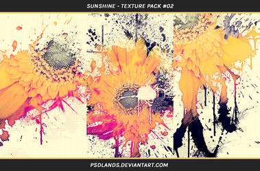 TEXTURE PACK #02 - sunshine by psdlands
