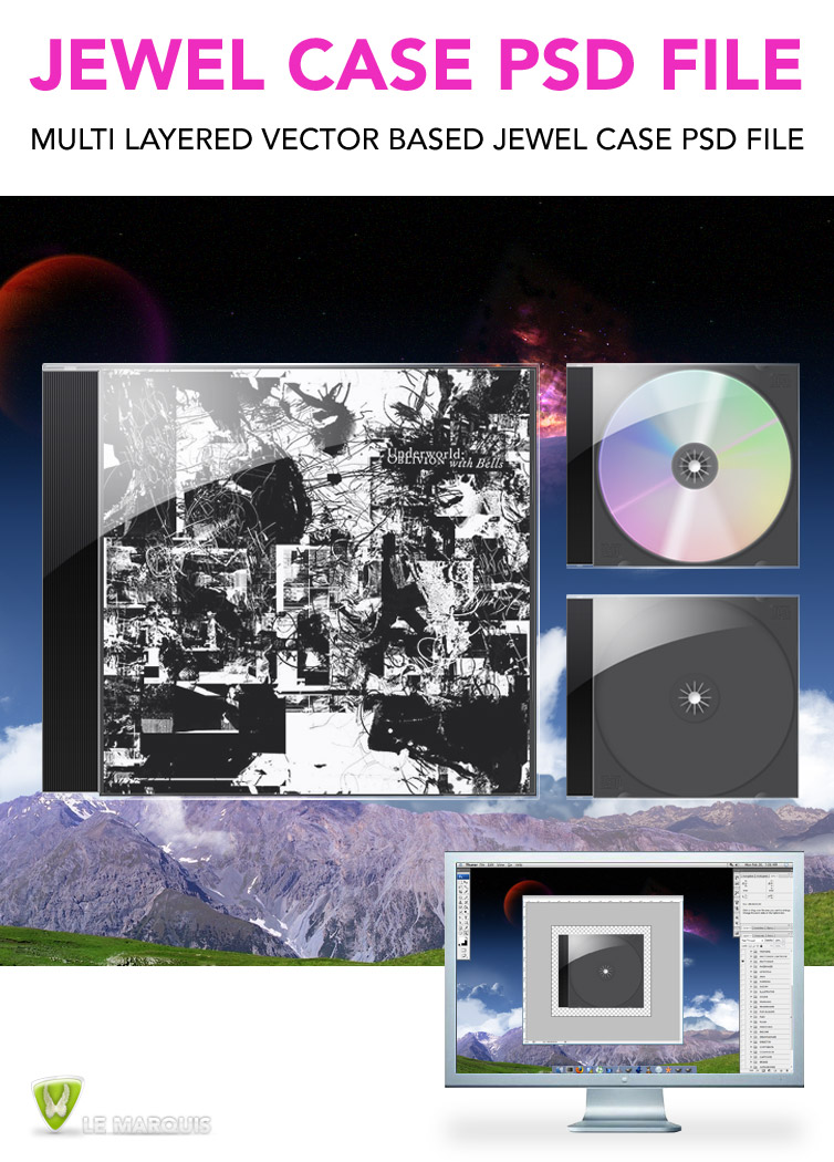 Jewel Case Psd File By Lemarquis On Deviantart