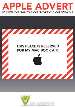 Reserved for Apple Air by LeMarquis