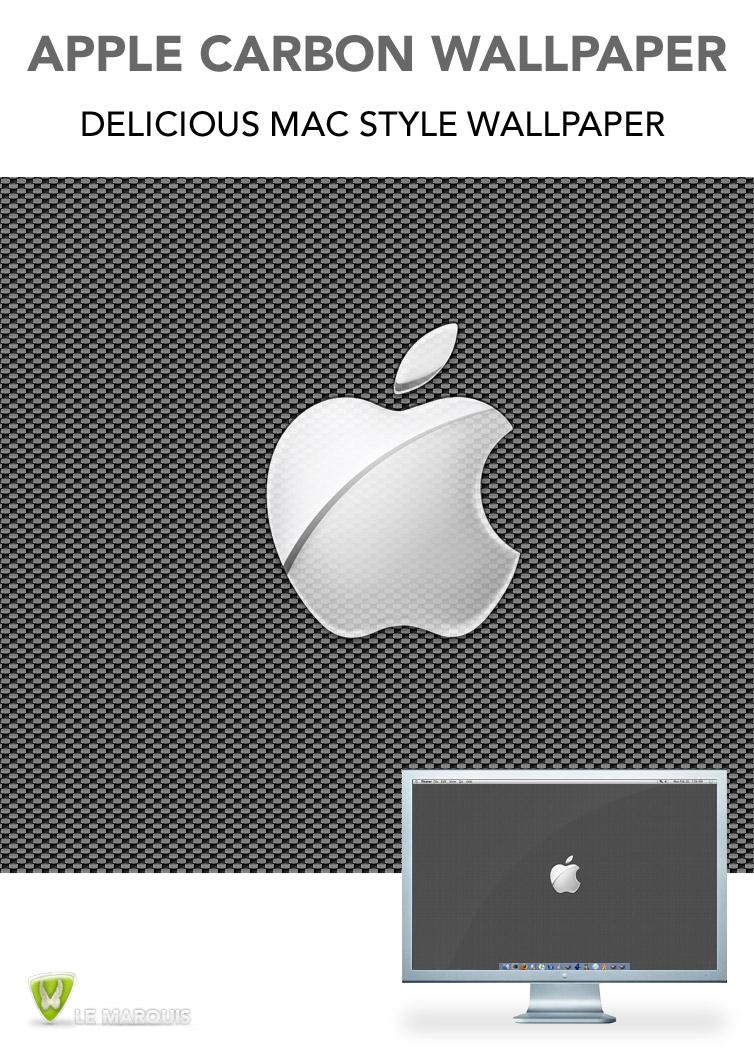 Apple Carbon Wallpaper
