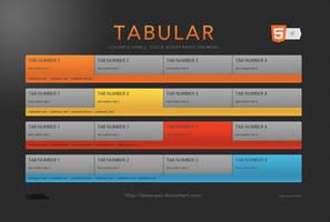 Tabular Menu by LeMarquis