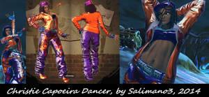 SFxT Mod: Christie Capoeira Dancer