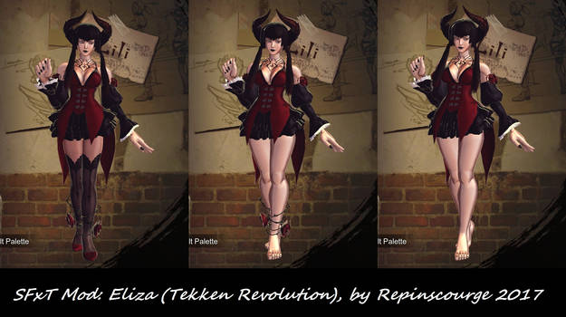SFxT Mod: Eliza (Tekken Revolution) by repinscourge