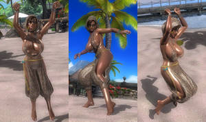DOA5LR Mod: Lisa C11 Barefoot Mix by repinscourge