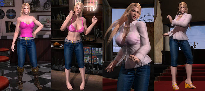 DOA5LR Mod: Office Set