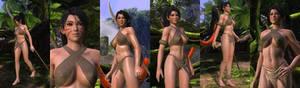 DOA5LR Mod: Cave Girl