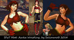 SFxT Mod: Asuka Wrestling by repinscourge