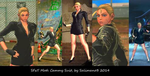 SFxT Mod: Cammy Suit by repinscourge